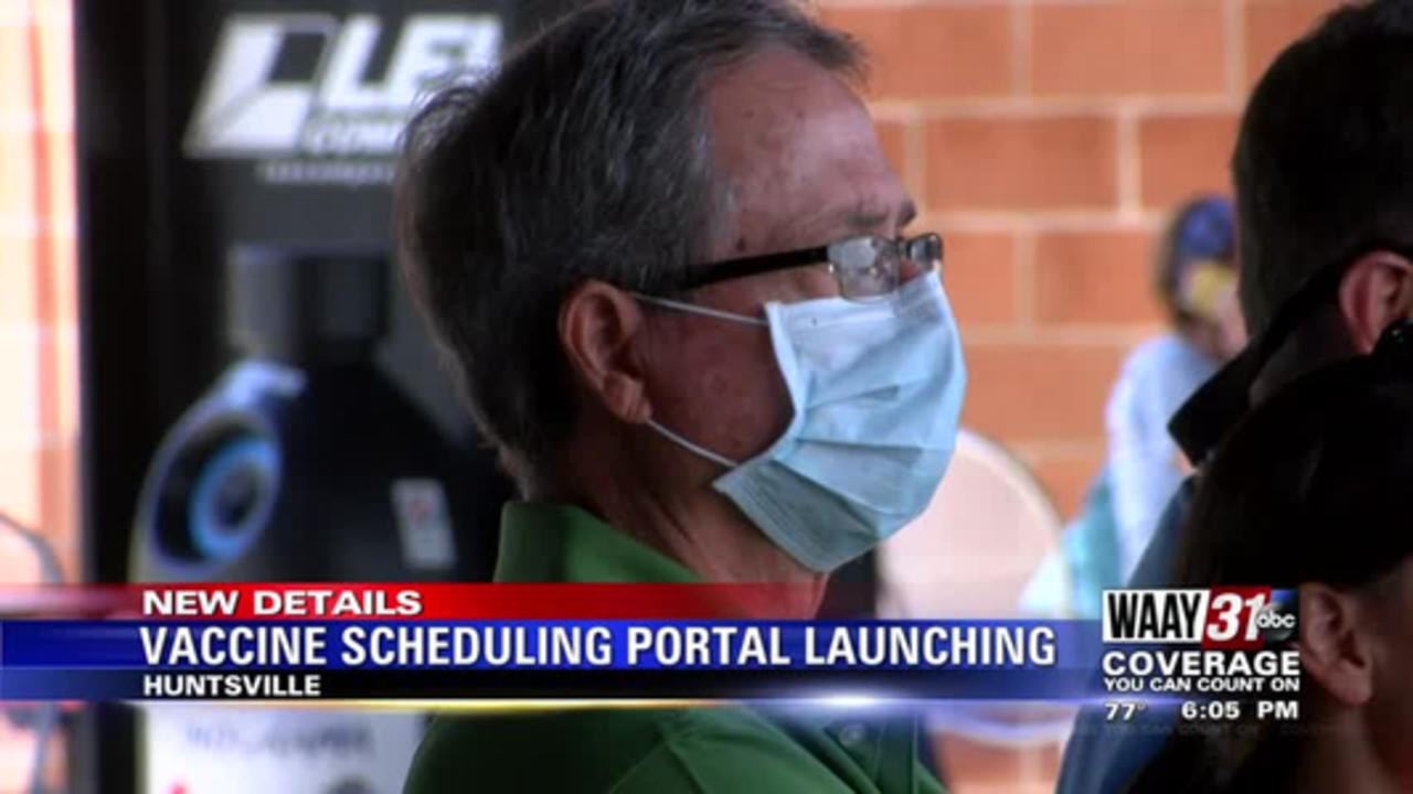 Vaccine Scheduling Portal Launching
