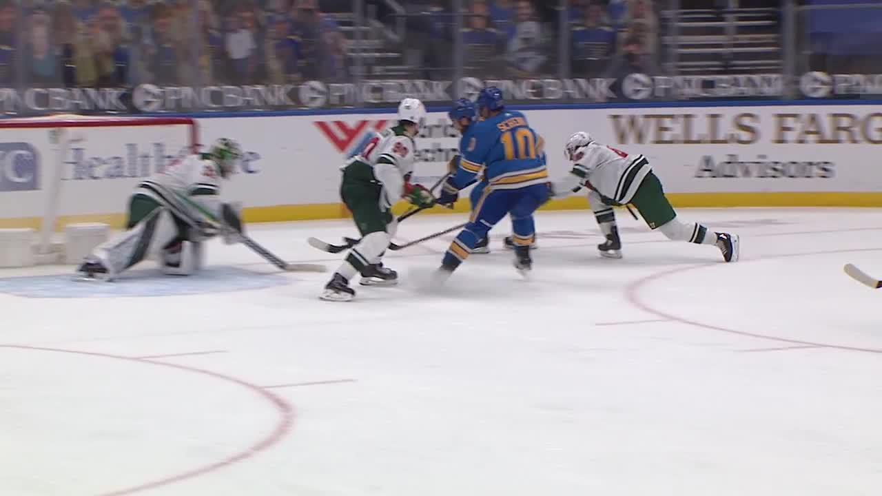 St. Louis Blues vs. Minnesota Wild - Game Highlights