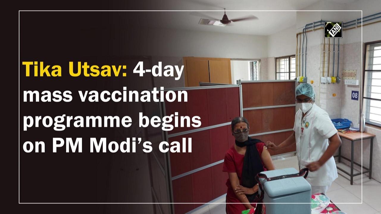 Tika Utsav: 4-day mass vaccination programme begins on PM Modi's call