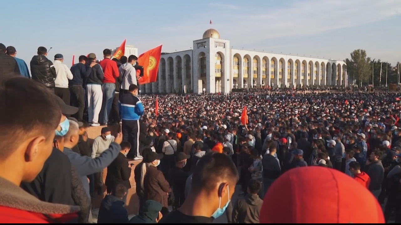 Kyrgyzstan: Fears over constitutional referendum as polls close