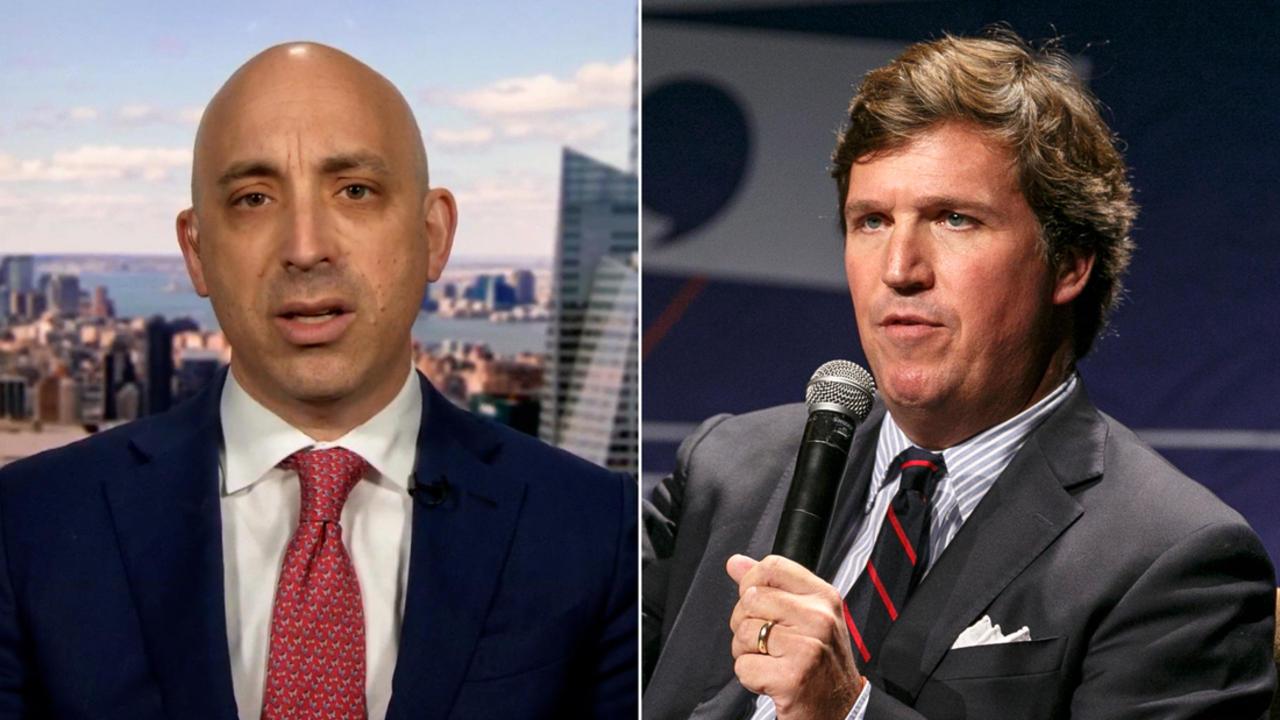 Anti-Defamation League CEO calls for Fox News to fire Tucker Carlson