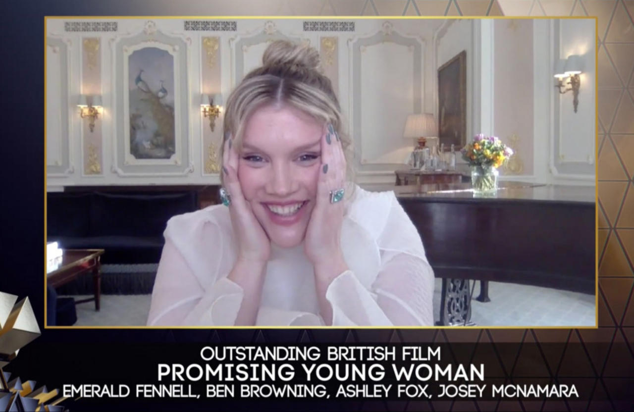 Promising Young Woman wins Outstanding British Film at the BAFTAs