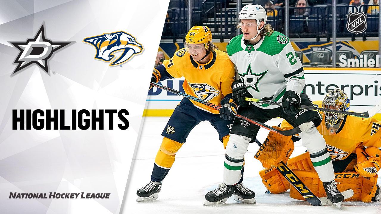 Stars @ Predators 4/11/21 | NHL Highlights