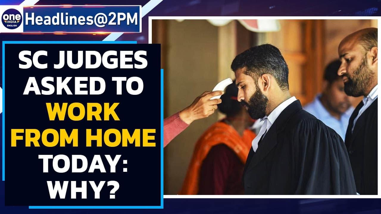 SC benches sit 1 hour late, judges hold video courts | Oneindia News
