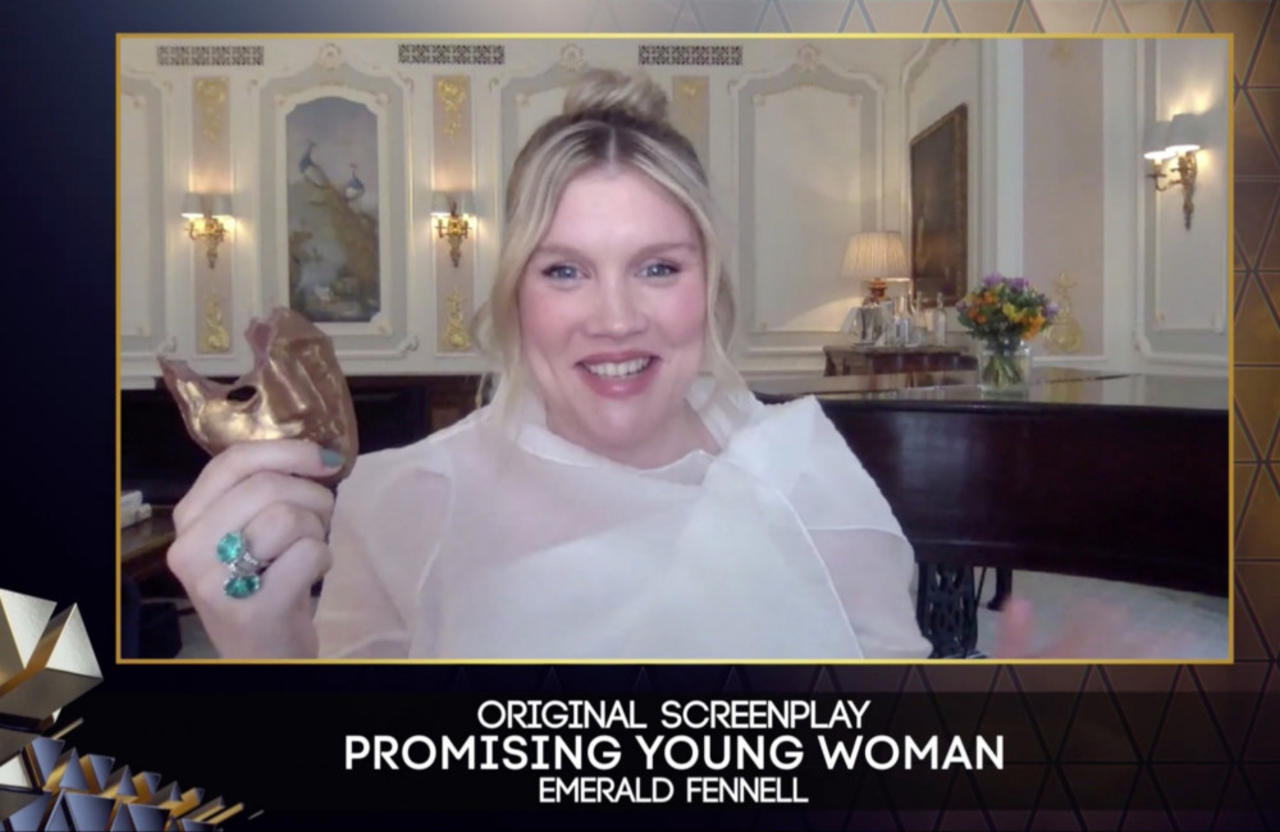 Emerald Fennell says her BAFTA win is thrilling