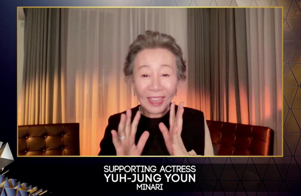 Yuh-Jung Youn thanks 'snobbish' Brits for BAFTA win