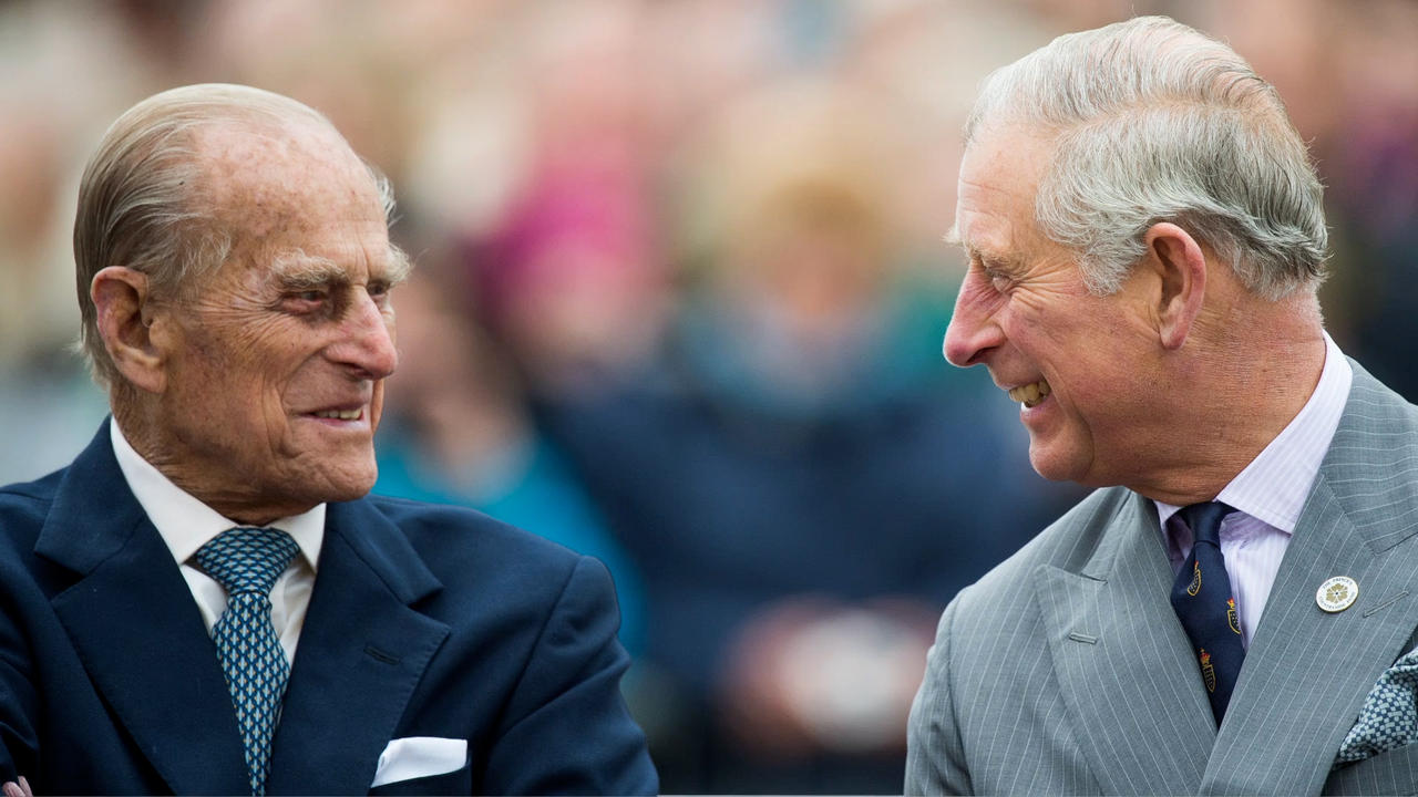 Prince Charles pays tribute to 'dear Papa' Prince Philip in moving speech