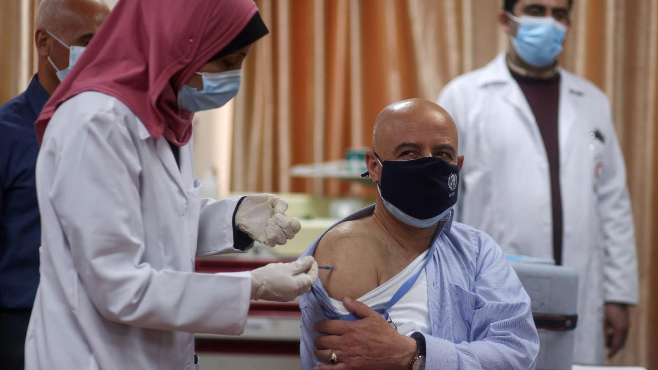 Gaza's slow vaccine rollout: Concerns herd immunity will not be achieved