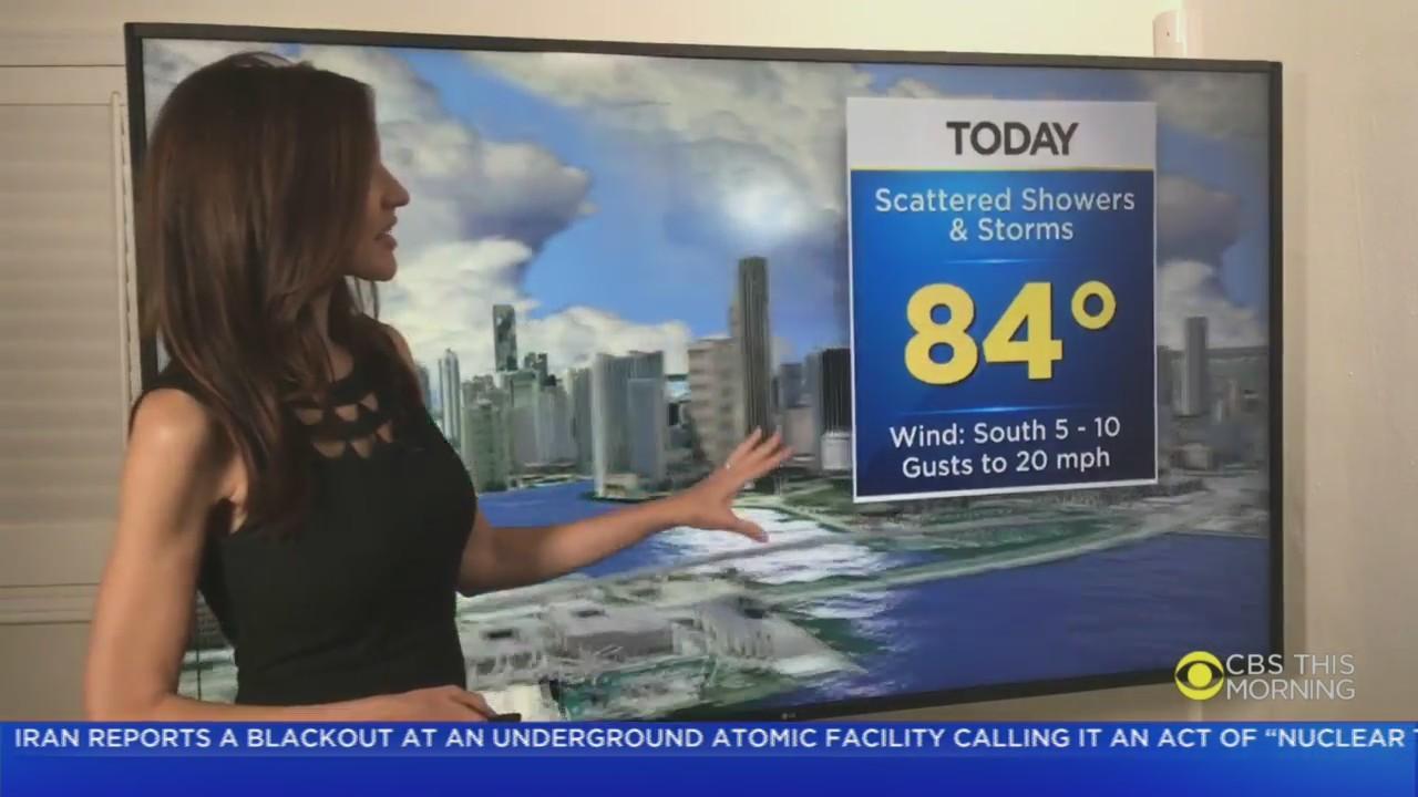 CBS4 Forecast For Monday 4/12/2021