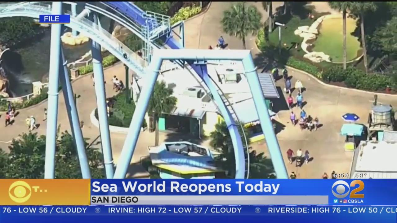 Sea World Reopens Today