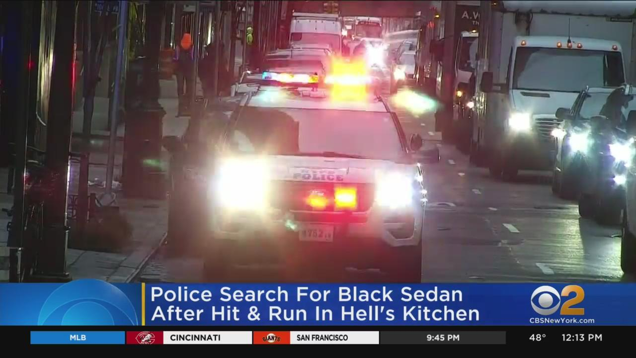 Search For Hit-And-Run Driver In Hell's Kitchen