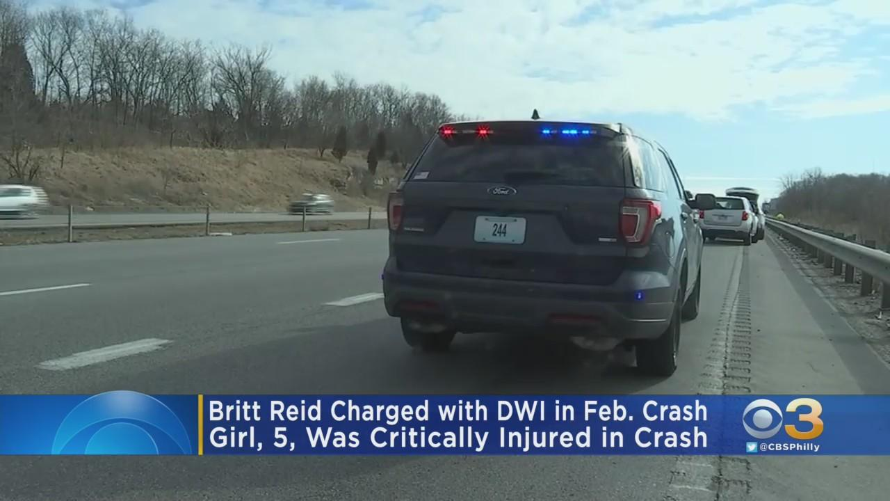 Britt Reid Charged With DWI In Feb. Crash That Seriously Injured 5-Year-Old Girl