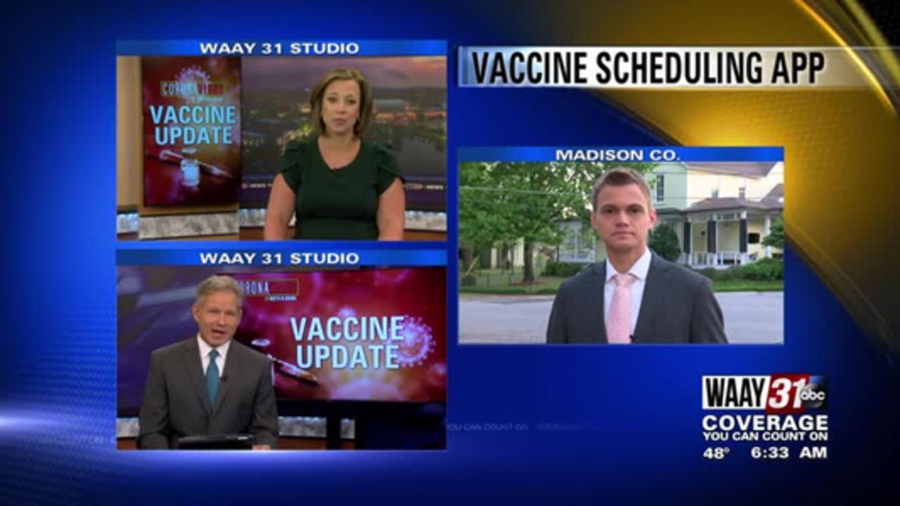 Huntsville Hospital unveils new vaccine scheduling app