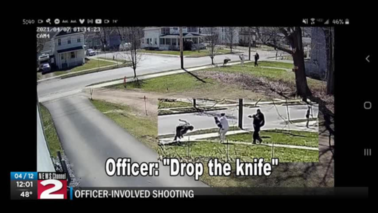 New video in Oneonta officer-involved shooting