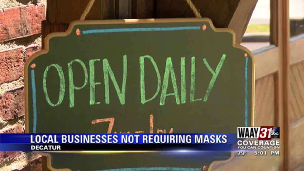 Local Businesses Not Requiring Masks