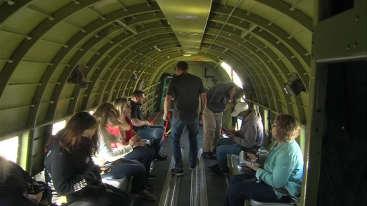 C-47 World War 2 Aircraft available for rides at Terre Haute Regional Airport