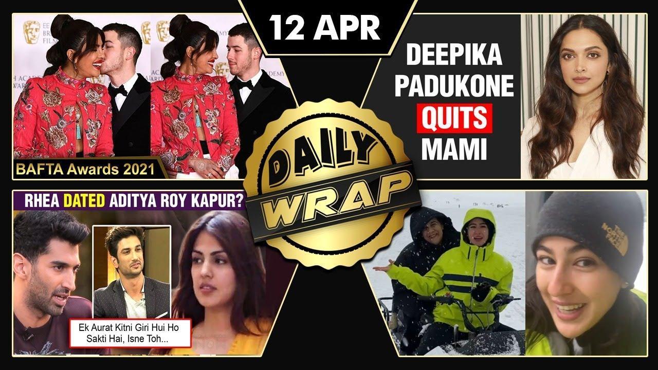 Priyanka Nick At BAFTA, Deepika Quits As MAMI Chairperson, Rhea Dated Aditya Roy Kapur  Top 10 News