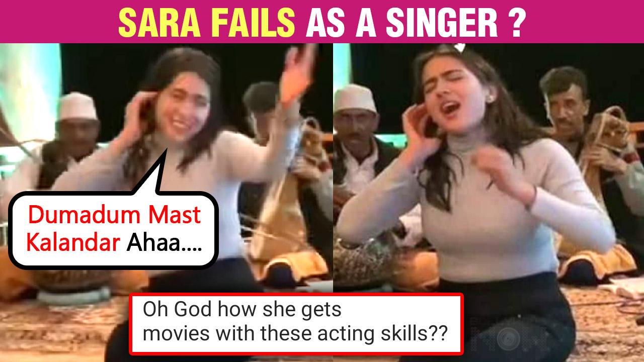 Sara Ali Khan's Namaste Darshakon New Video Ft. Amrita Singh , Akshay Kumar & More