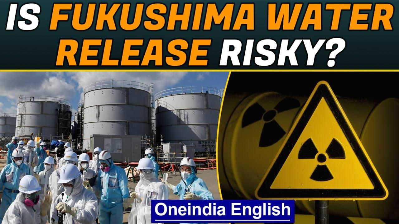 Fukushima water release: Is it risky? Effect of Tritium   Oneindia News