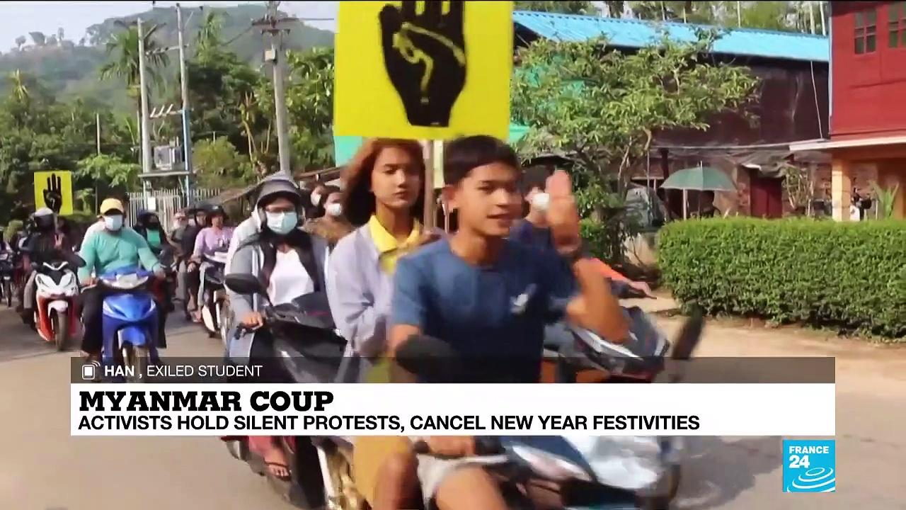 Myanmar economic capital 'Yangon has become a warzone', exiled student activist says
