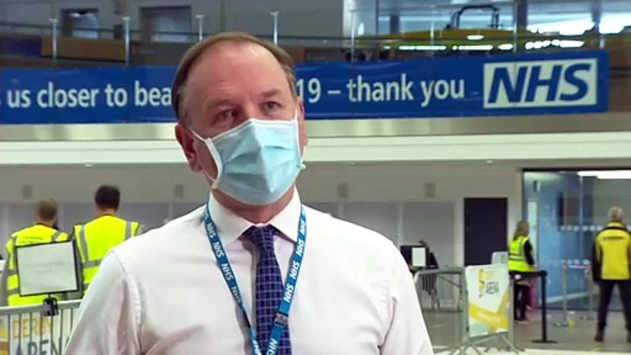 NHS chief exec hails vaccine target success