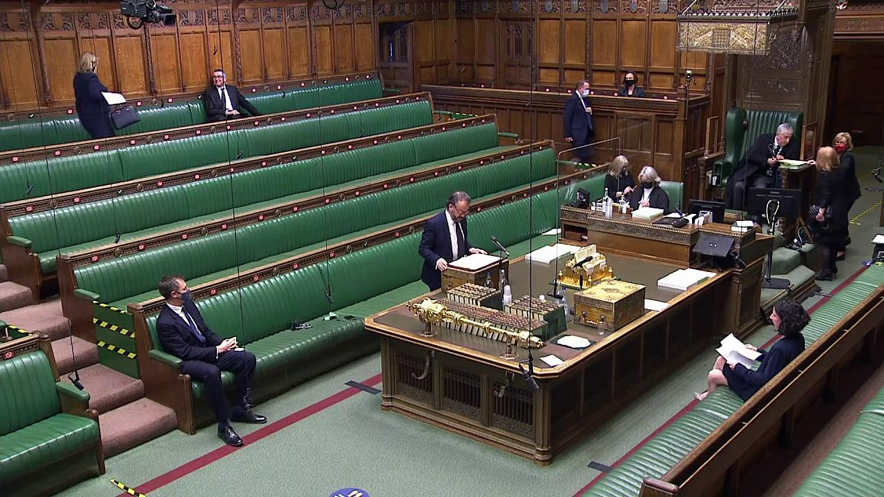 Greensill urgent question asked in Commons