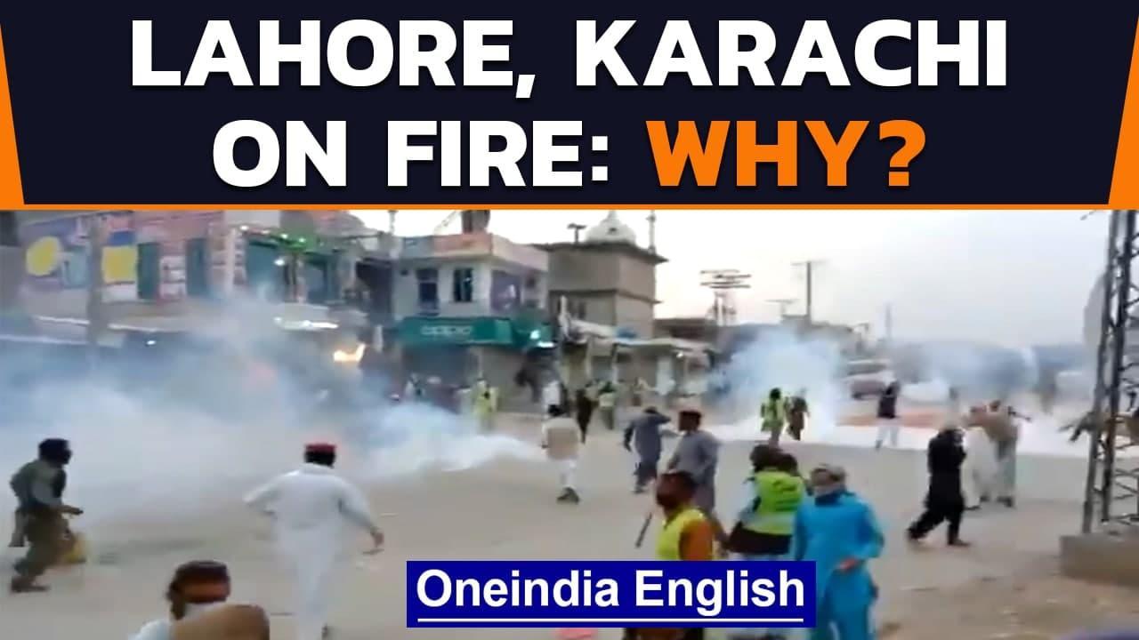 Pakistan: Protests erupt after TLP leader's arrest   Oneindia News