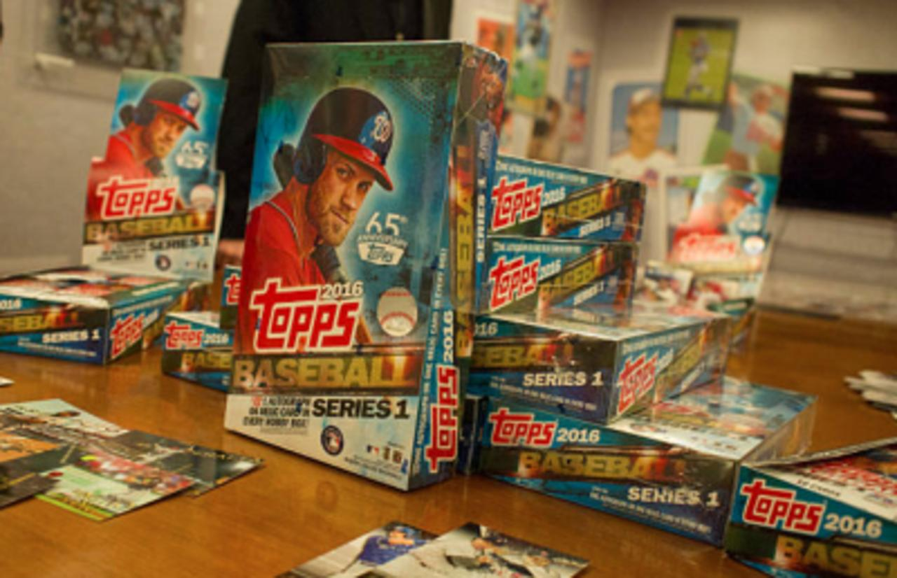 MLB Partners With Topps to Release NFT Baseball Card Series
