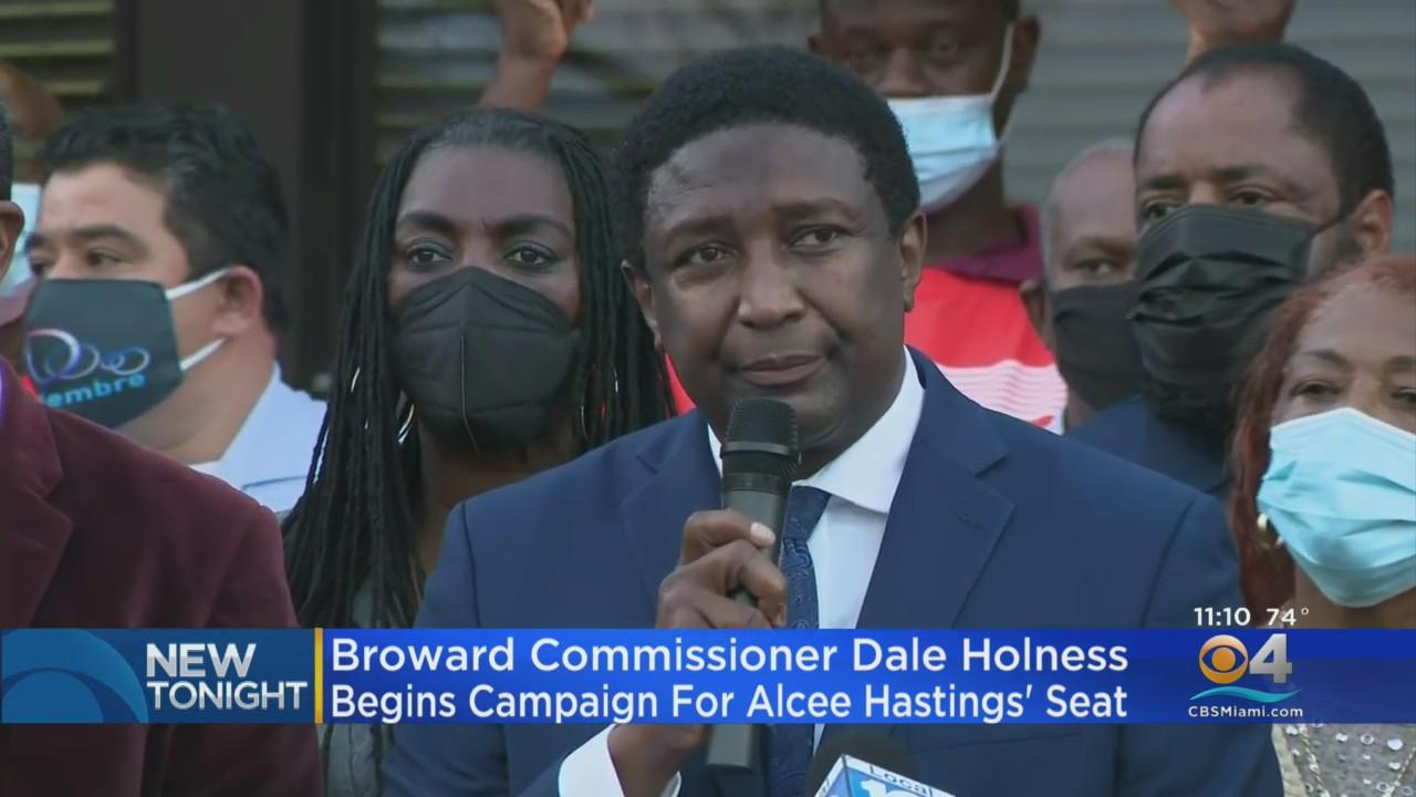 Broward Commissioner Dale Holness To Run For Late Rep. Alcee Hastings' Congressional Seat