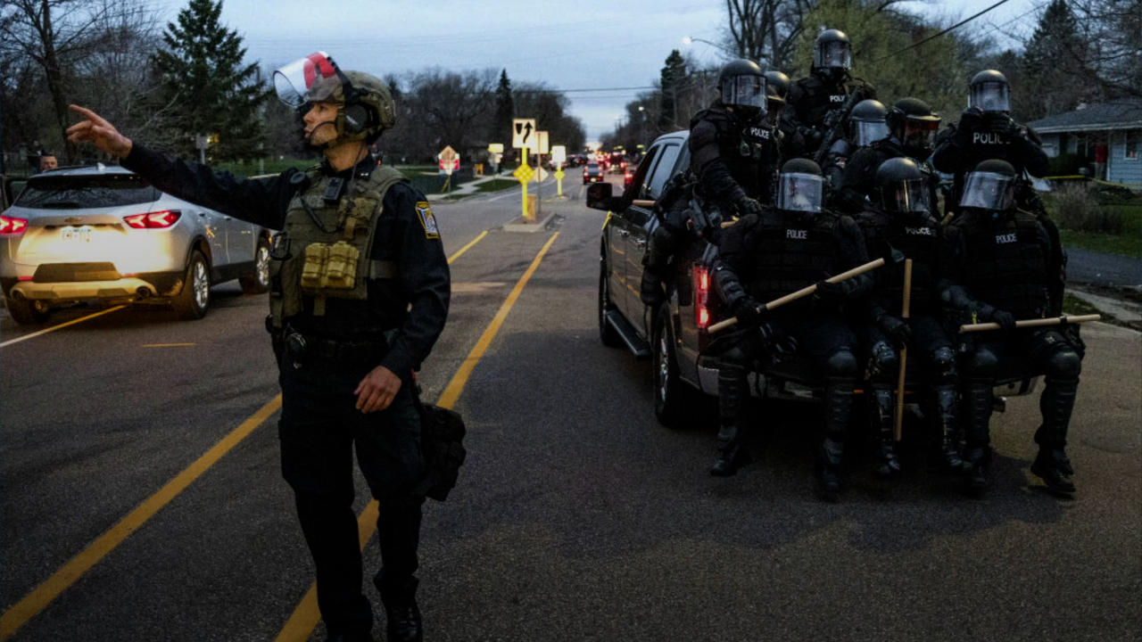 Minnesota National Guard Deployed After Police Officer Kills Daunte Wright