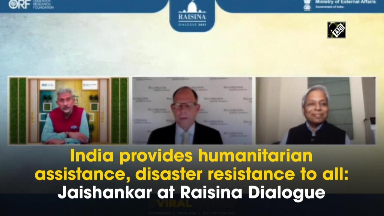 India provides humanitarian assistance, disaster resistance to all: Jaishankar at Raisina Dialogue