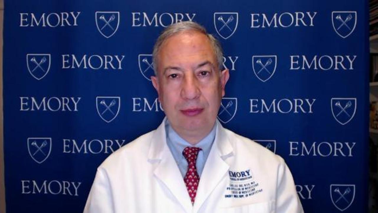 Doctor on blood clot concerns: It's a very rare event
