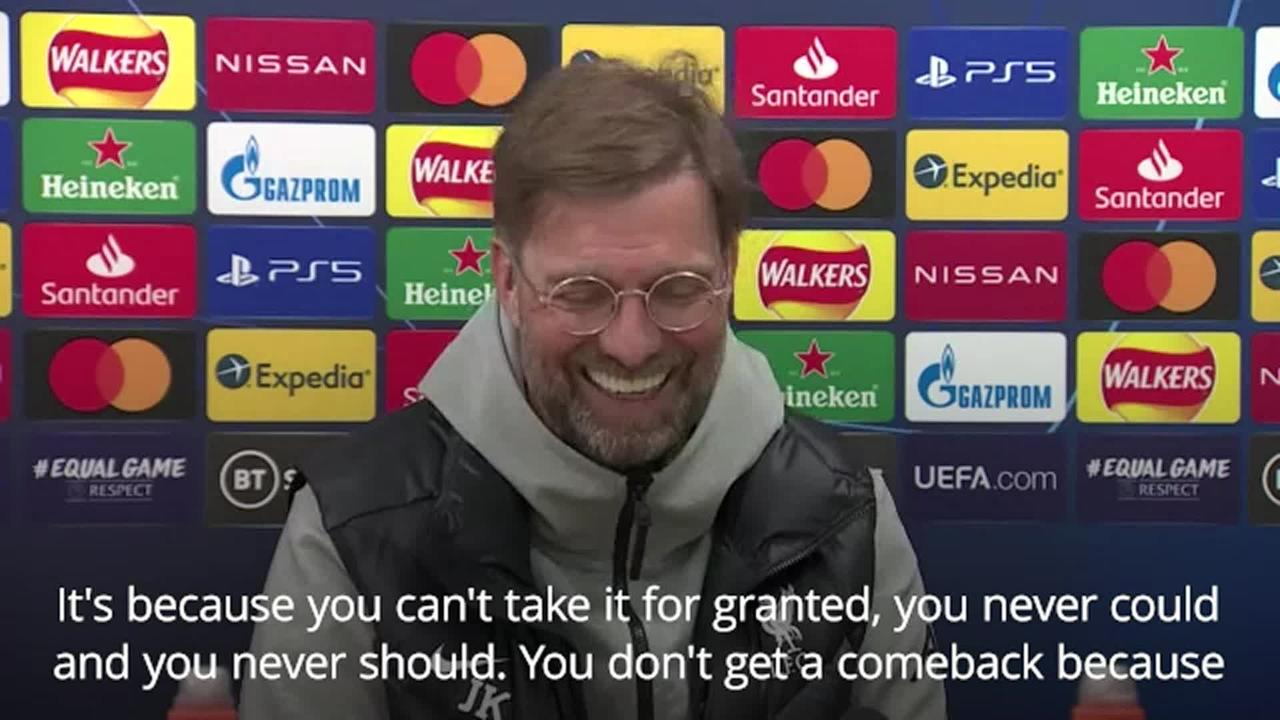 Klopp: Past comebacks will count for nothing against Real Madrid