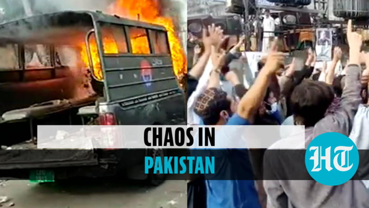 Watch: Violent protests in Pakistan over anti-France party chief's arrest