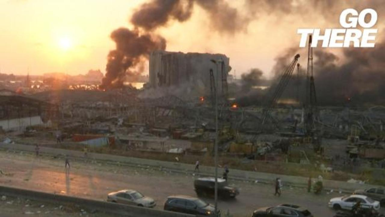 Beirut in shock as deadly explosion adds to suffering from Covid-19 and economic crisis