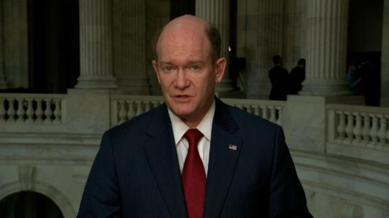 Coons on Iran: We're in a very tough situation