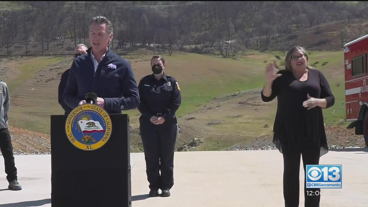 Gov. Newsom Signing Wildfire Prevention Bill