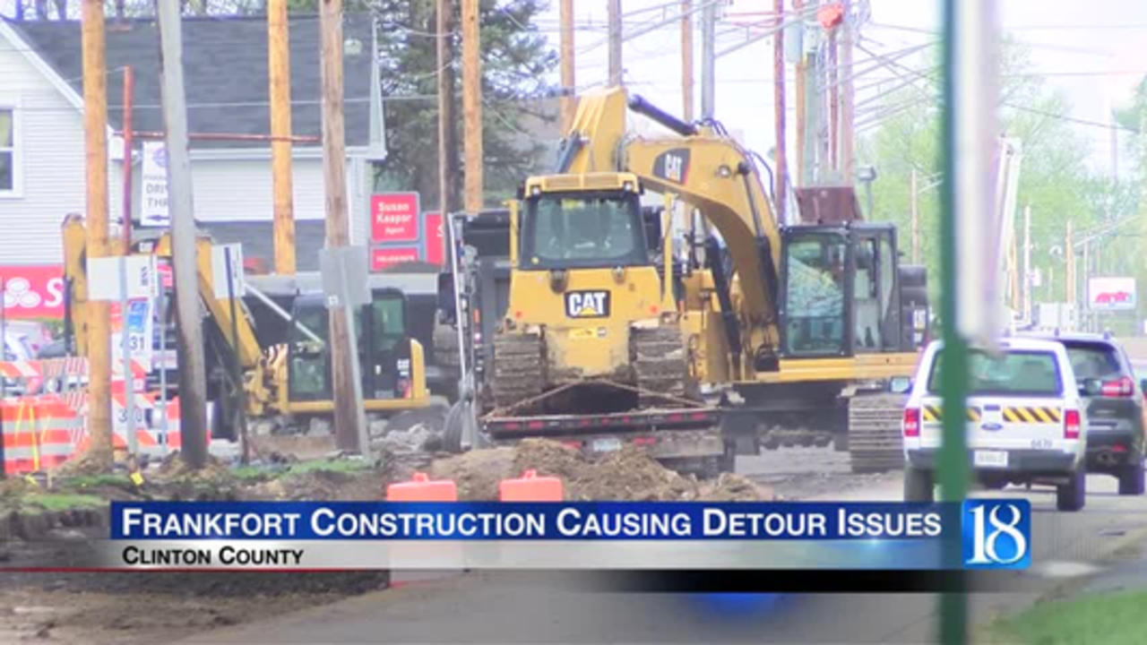 Know the detours for the S.R. 28/39 construction in Frankfort