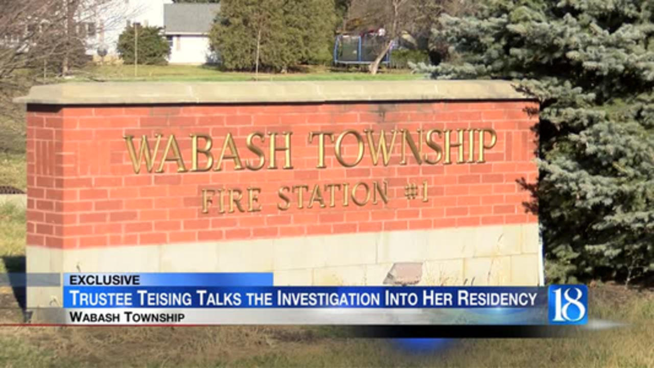 Wabash Township Trustee talks the investigation into her residency