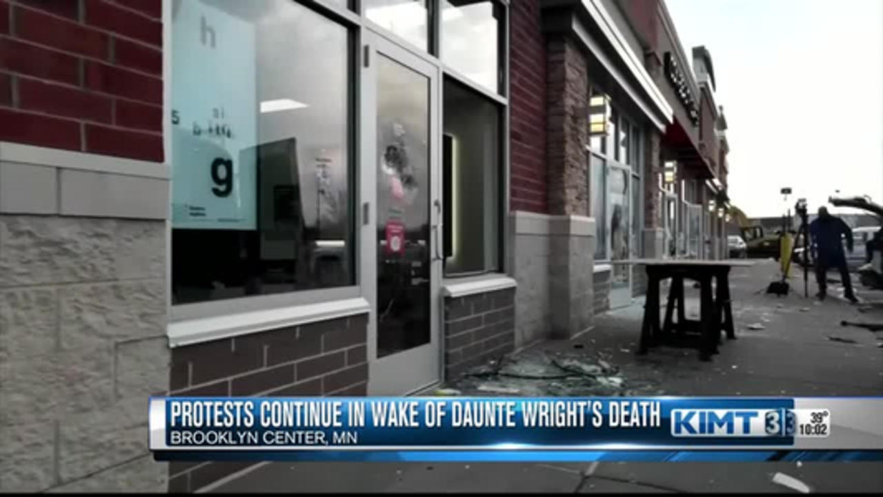 Protests continue in wake of Daunte Wright's Death