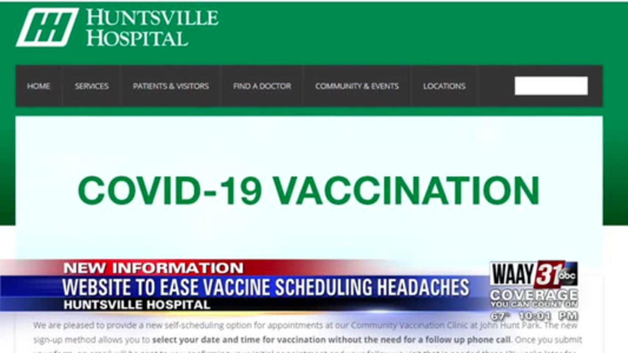 Website to ease vaccine scheduling headaches