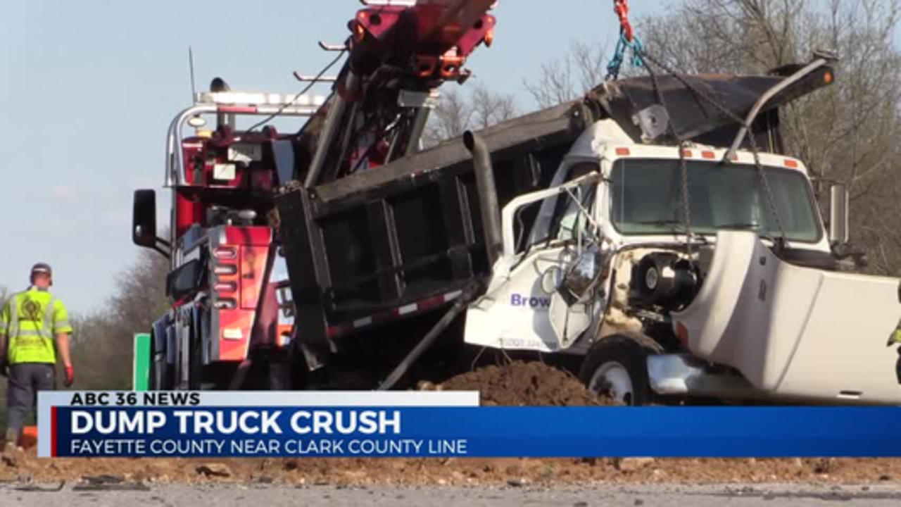 11PM Dump Truck Crash 04.12.2021