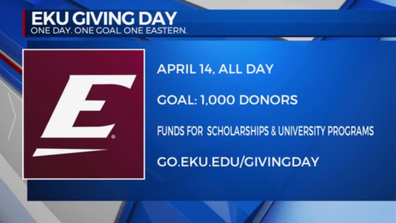 EKU Giving Day 4/13/2021