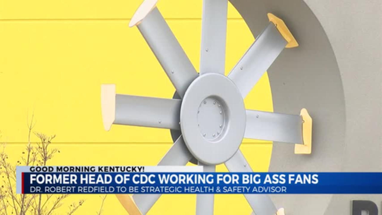C.D.C. Head to work for Big Ass Fans 4/13/2021