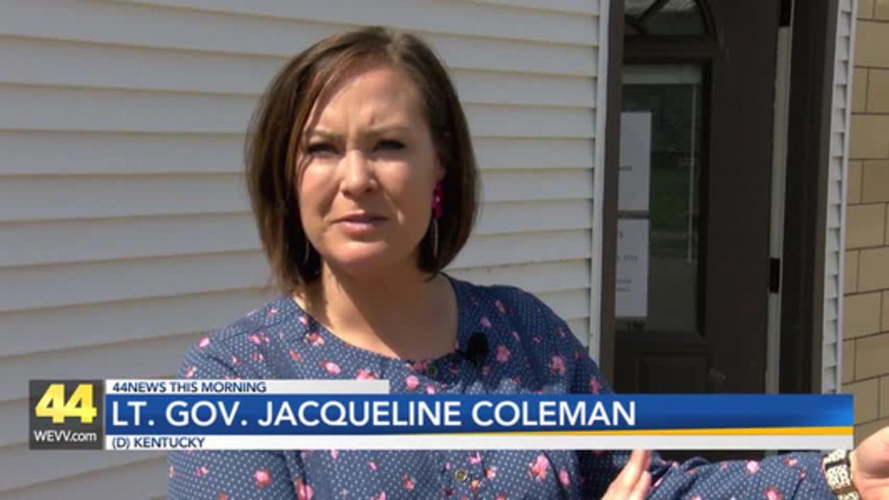 Kentucky's Lieutenant Governor Visits Local Vaccine Clinics