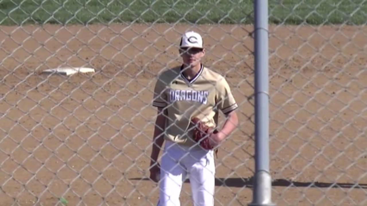 Cameron Dragons baseball take down midbuch
