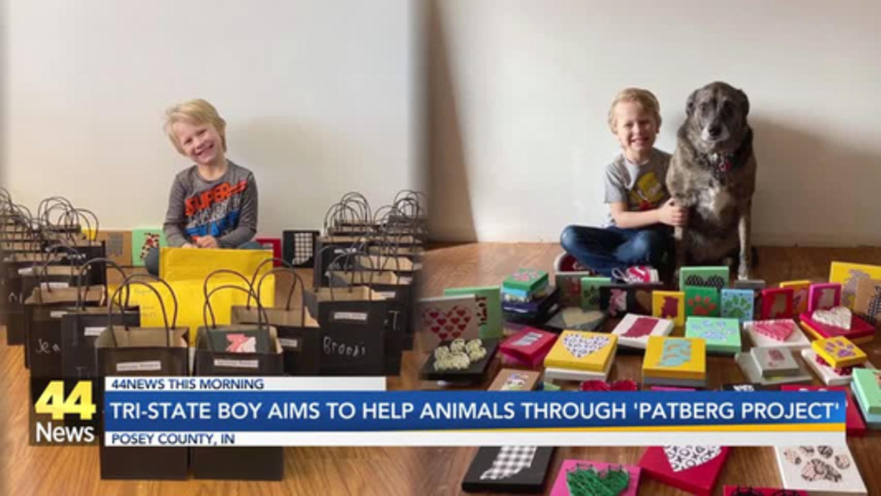 Tri-State Boy Aims To Help Animals Through 'Patberg Project'