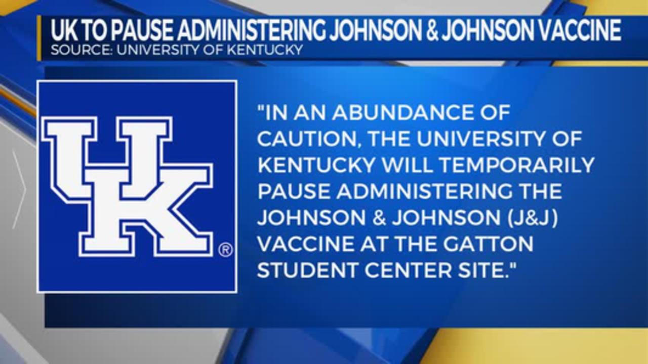 Pause on Johnson and Johnson Vaccine