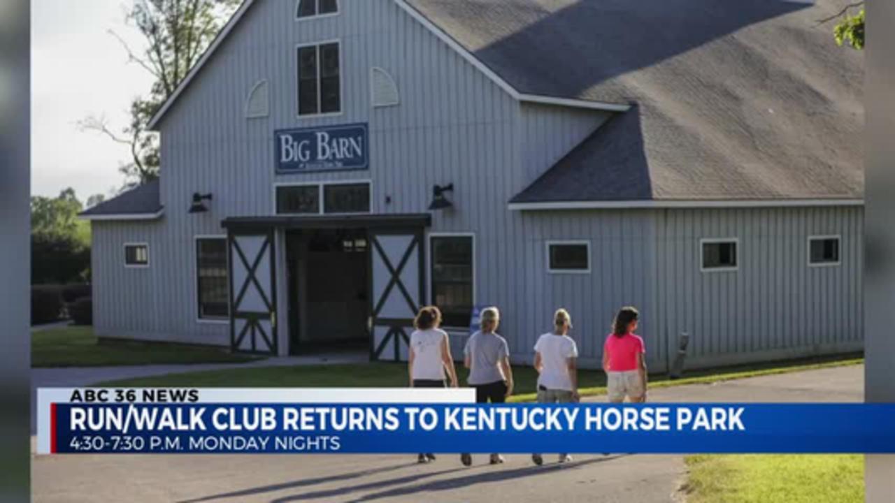 Run/Walk Club Returns to Kentucky Horse Park