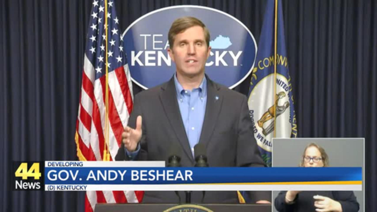 Gov. Beshear on J&J Vaccine Pause: 'We Still Have to Defeat This Pandemic'